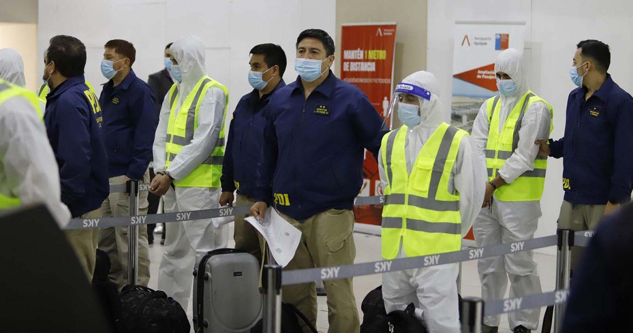 En esta oportunidad, los 77 deportados se unen a otrs 470 que ciudadanos que ya han sido expulsados del país en lo que va del 2021. AGENCIA UNO/ARCHIVO