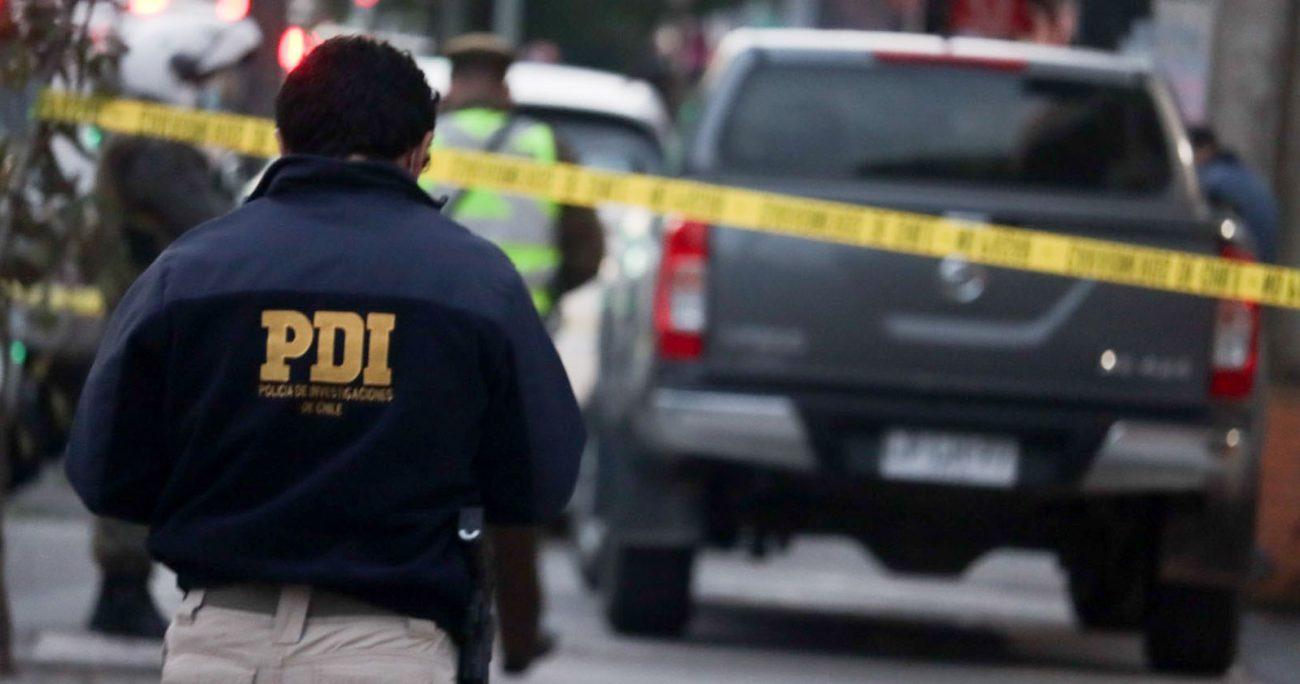 Los familiares de la víctima, que contaba con antecedentes por violencia intrafamiliar, no realizaron la denuncia de lo sucedido, por lo que el Ministerio Público actuó de oficio, dejando la investigación del caso en manos de la PDI. AGENCIA UNO/ARCHIVO
