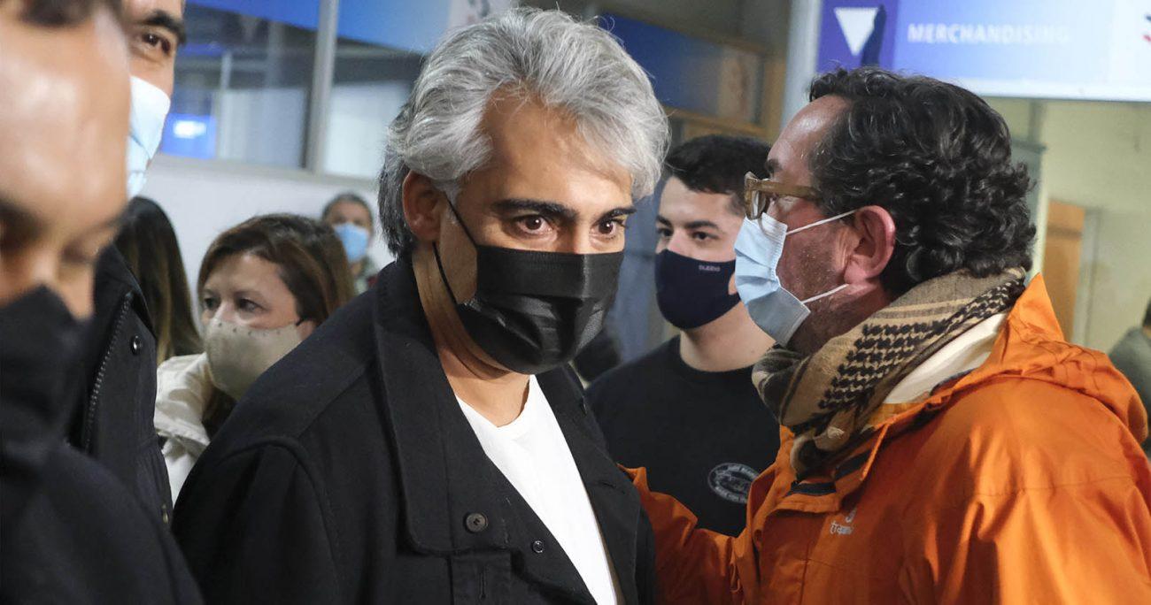 Marco Enríquez-Ominami interpuso un recurso de protección contra del Servicio Electoral con el objetivo de que se le restituyan sus derechos políticos y ciudadanos, que le fueron suspendidos en el marco de la acusación en su contra por el denominado caso SQM. AGENCIA UNO