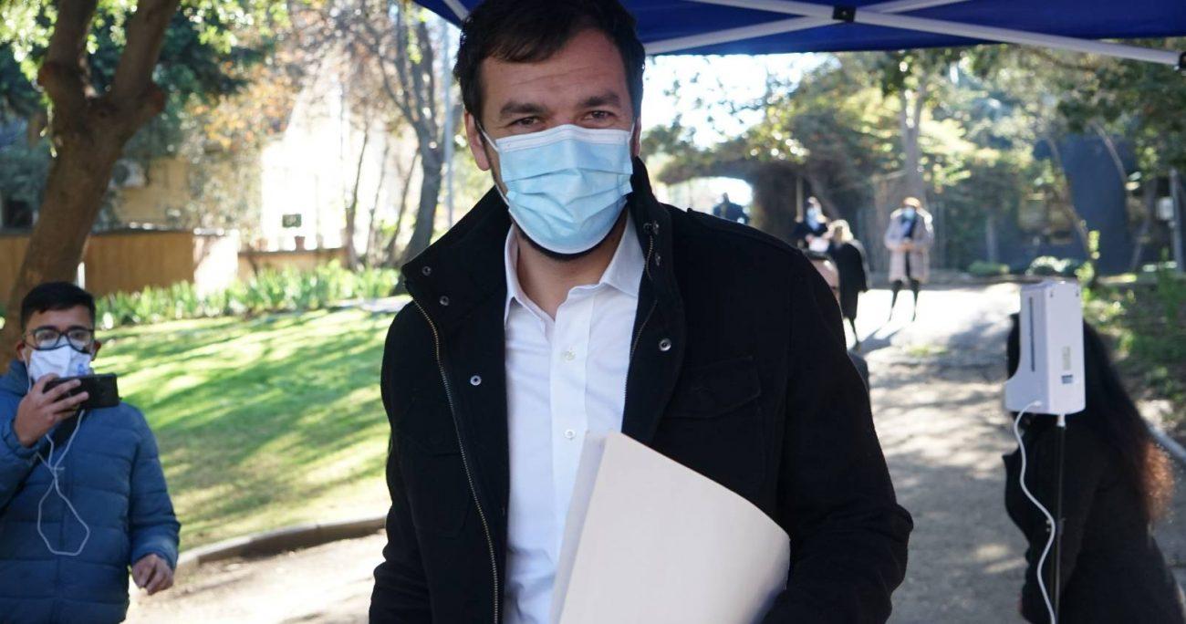 """El nuevo alcalde de Maipú agregó que""""acá había una política del despilfarro, con exceso de horas extras, vamos a encargar una auditoría externa, pero se va a tener en meses"""". AGENCIA UNO/ARCHIVO"""