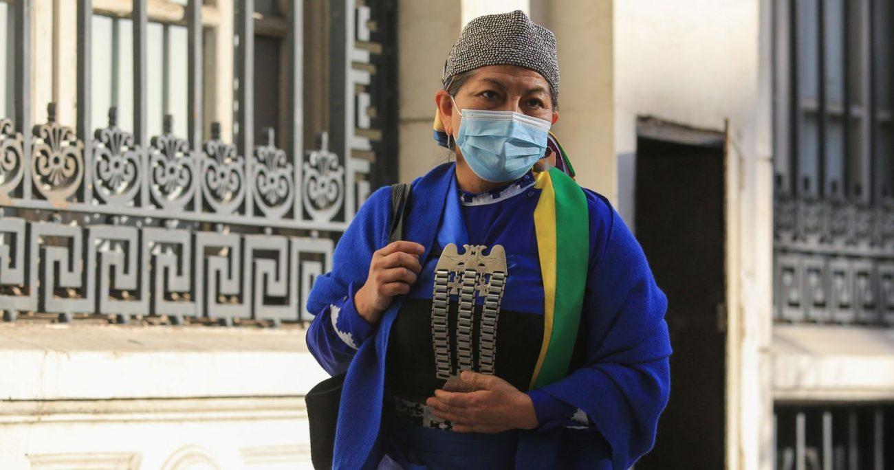 La convencional explicó que habla mapudungún para que la lengua no muera. AGENCIA UNO/ARCHIVO
