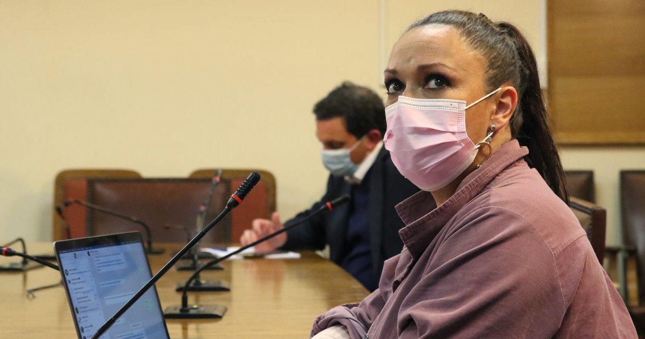 La legisladora durante una sesión de la comisión. AGENCIA UNO/ARCHIVO