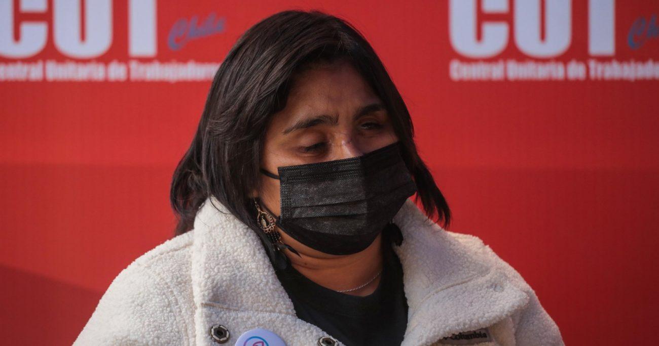 Campillai perdió la vista tras ser golpeada por una bomba lacrimógena. AGENCIA UNO/ARCHIVO