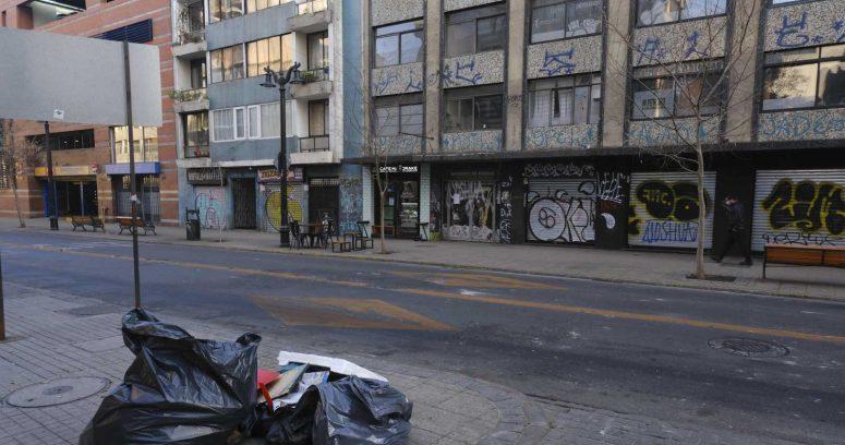Barrio Lastarria y la pandemia de la violencia