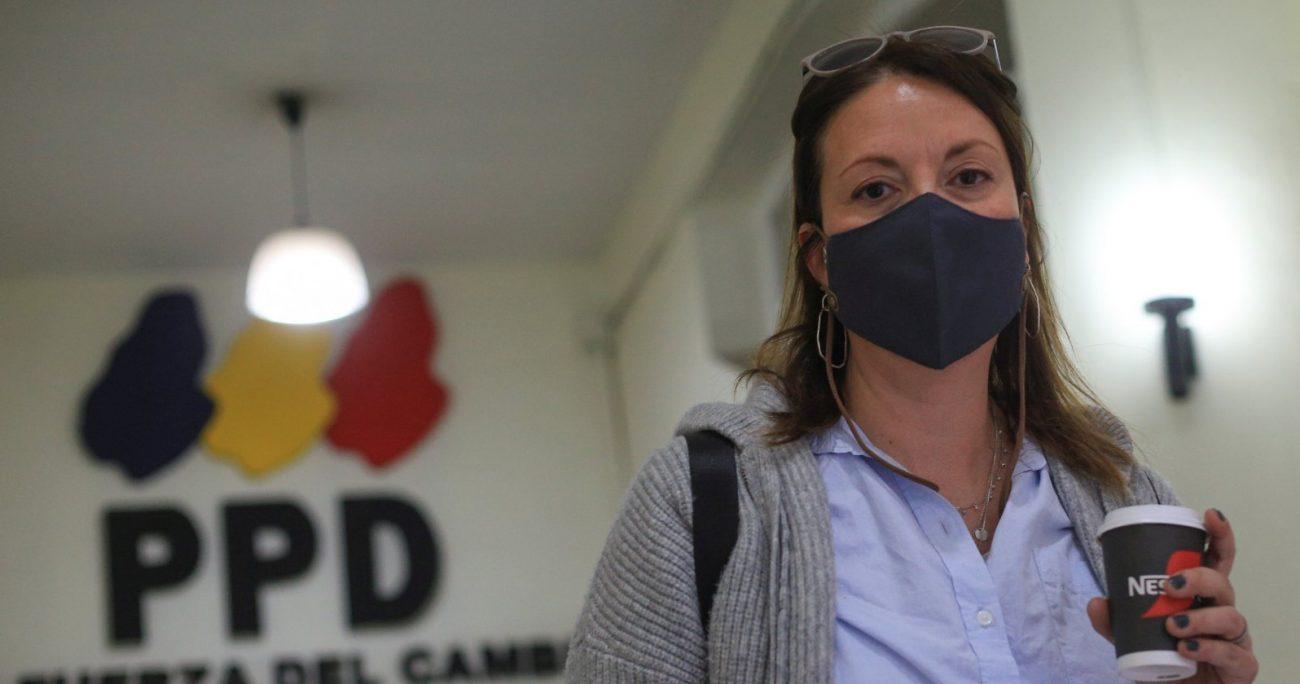 La dirigenta fue elegida en el cargo en reemplazo de Heraldo Muñoz. AGENCIA UNO