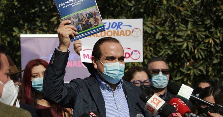 """""""Carlos Maldonado lanzó programa con propuesta de reforma tributaria y pensiones con aporte estatal"""""""