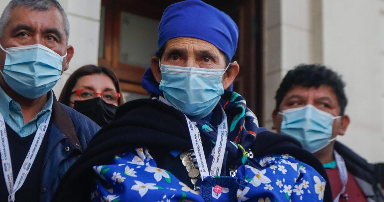 """Me dicen que estuve presa"": machi Linconao acusa constantes ataques en Convención"