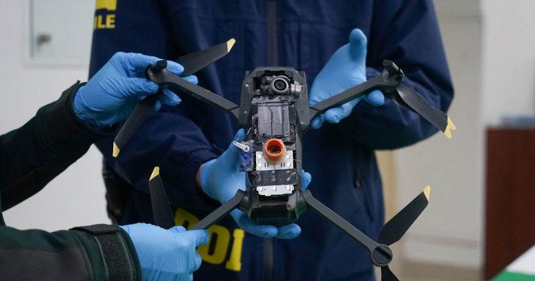 """""""PDI detuvo a banda que ingresaba droga con drones al penal Santiago Sur"""""""