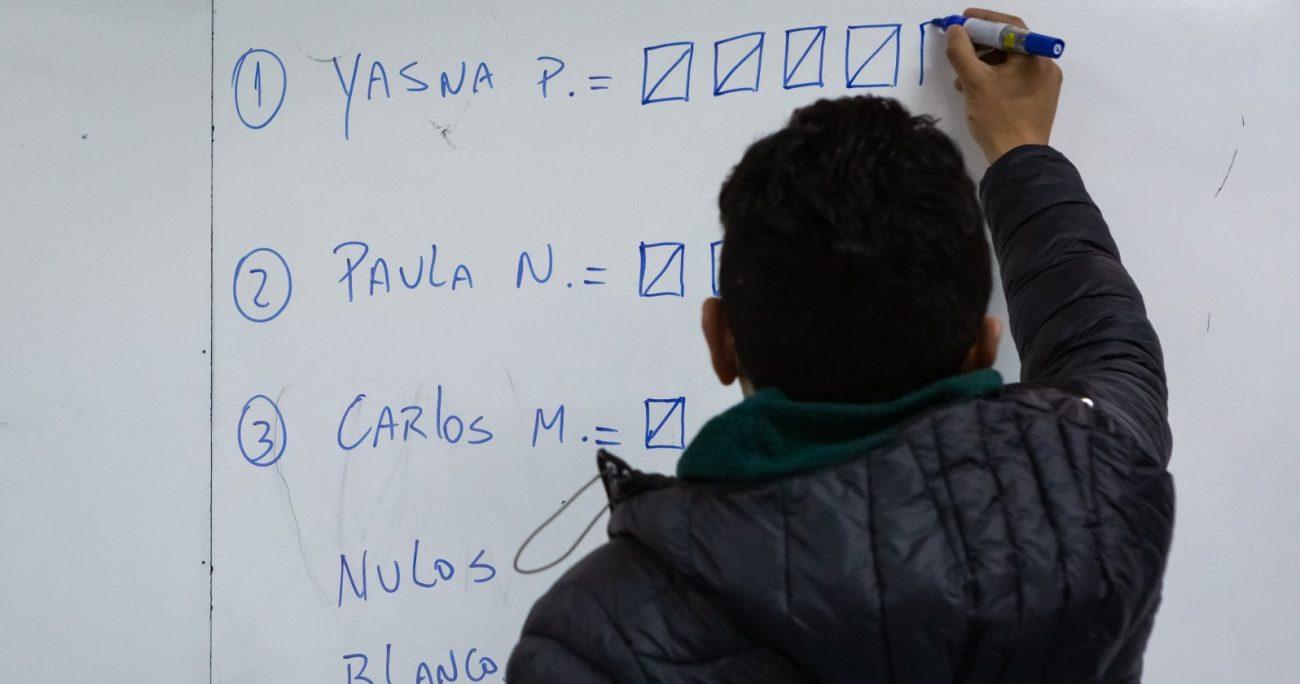 Al interior de Unidad Constituyente esperaban una participación de al menos 300 mil personas. AGENCIA UNO/ARCHIVO