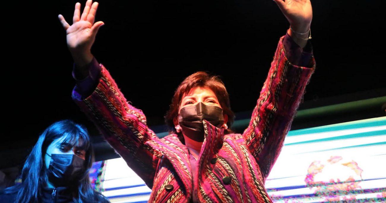 """Yasna Provoste tras el triunfo: """"Vamos a abrir La Moneda al Chile de las regiones"""""""