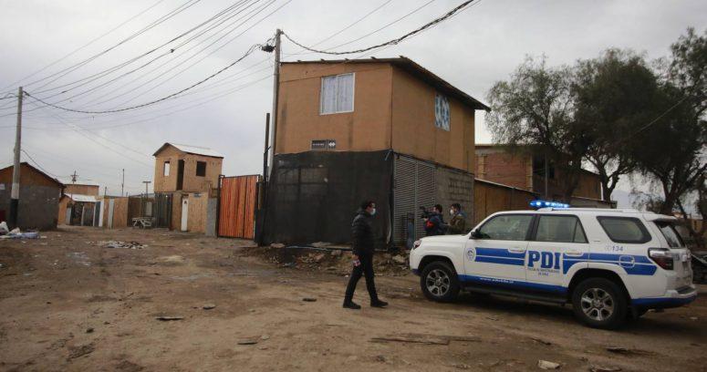 """""""PDI investiga homicidio de ciudadano colombiano en una toma"""""""