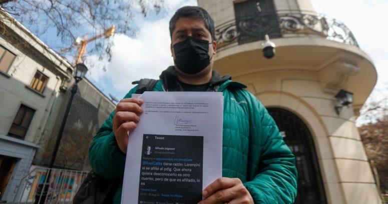 """""""Lorenzini se reúne con el Servel ante incertidumbre por destino electoral:"""