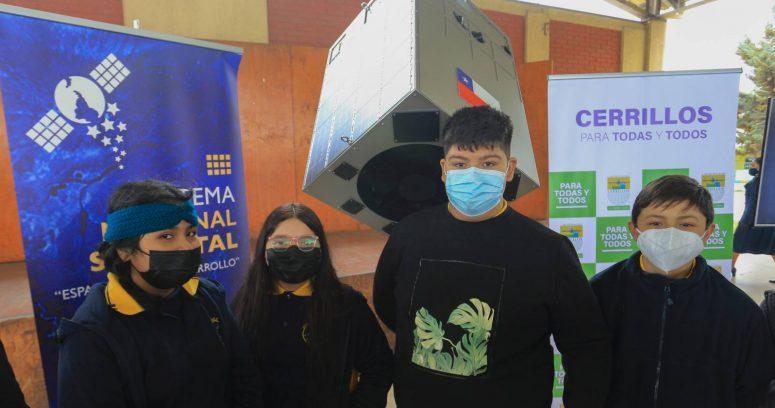 """""""Estudiantes de Cerrillos abrieron nuevo Programa Escolar Satelital"""""""