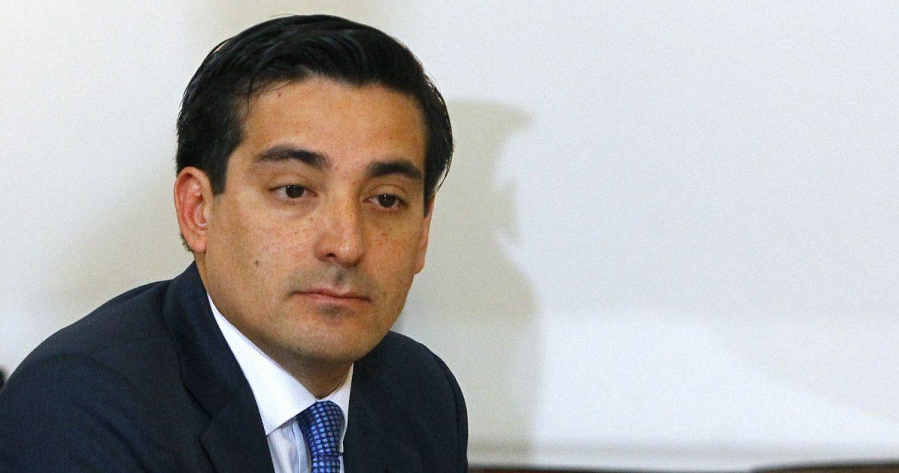 La Fiscalía Regional de Valparaíso decidió no perseverar en la investigación contra Peñailillo en el caso SQM. AGENCIA UNO/ARCHIVO