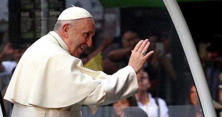 """""""Interceptan carta con tres balas en su interior dirigida al Papa Francisco"""""""