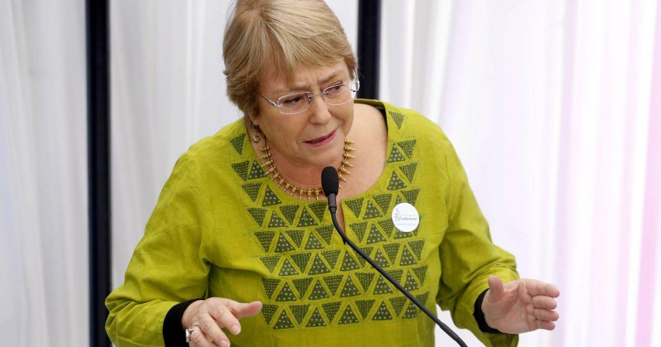 """""""Un regreso a las prácticas pasadas de los talibanes no encontrará aceptación en la comunidad internacional"""", indicó Bachelet. ARCHIVO/AGENCIAUNO"""