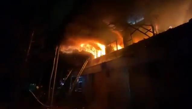 """""""Incendio afectó a campus San Joaquín de la Universidad Católica"""""""