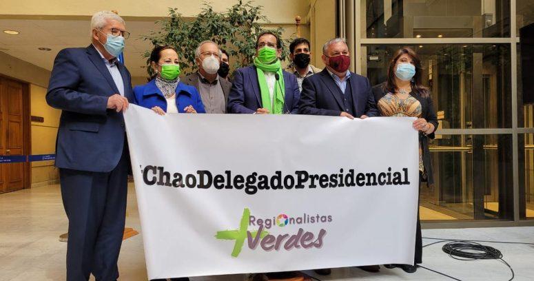 """""""Oposición pide acelerar proyecto para terminar con los delegados presidenciales"""""""