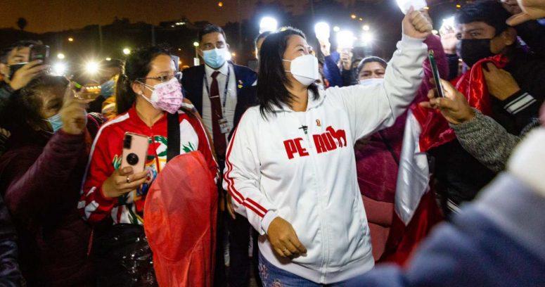 """Keiko Fujimori acusa a Castillo de """"impulsar un Gobierno comunista"""" en Perú"""