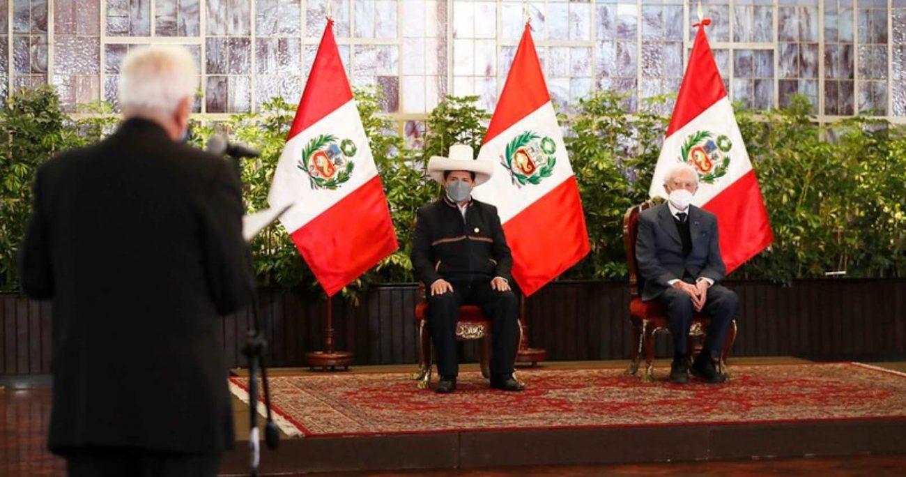 """""""El terrorismo en Perú lo inició la Marina, y eso se puede demostrar históricamente"""", dijo el canciller. TWITTER/CANCILLERIAPERU"""