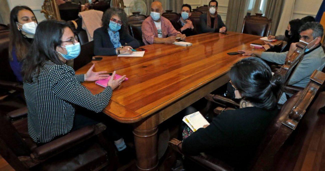 """Alfonso Molina, presidente de los empresarios y emprendedores del Barrio Lastarria, calificó la reunión como """"muy positiva""""."""