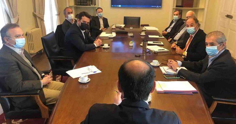"""""""Gobernador de La Araucanía se reúne con CPC para abordar la situación de la región"""""""