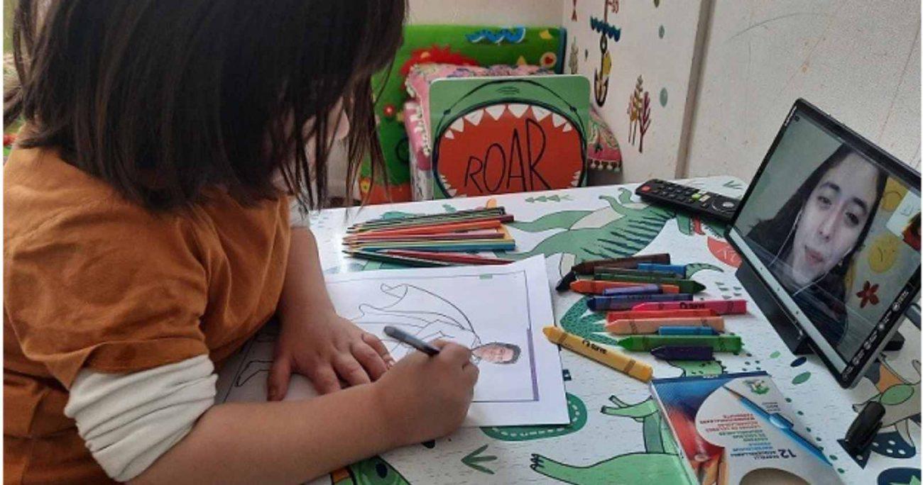 El Jardín Infantil Online, uno de los emprendimientos destacados del Programa Emerge, comenzó con clases en mayo de 2020. JARDÍN INFANTIL ONLINE