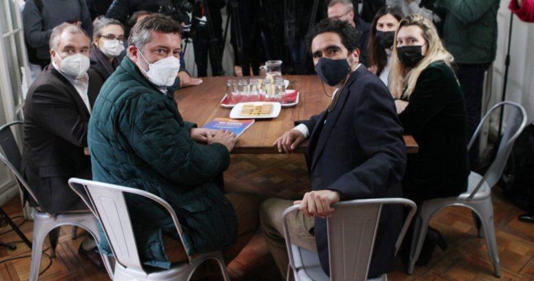 """""""Sebastián Sichel recoge ideas del programa de Gobierno de Ignacio Briones"""""""