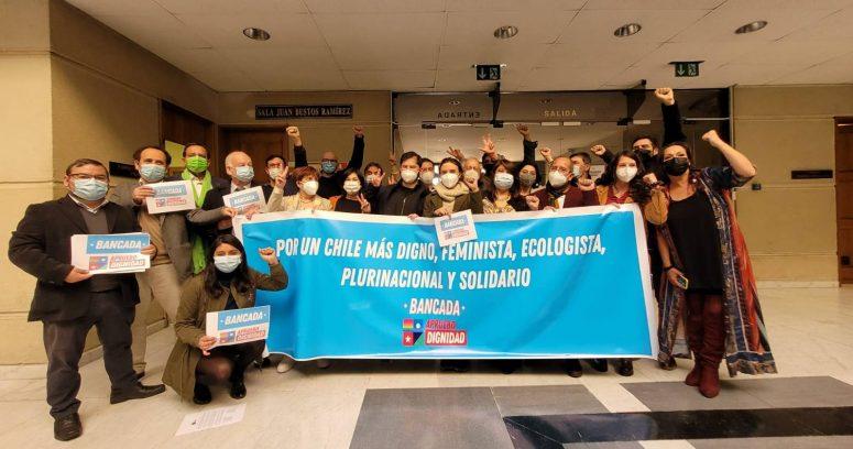"""""""Diputados FA y PC se unieron en la bancada de Apruebo Dignidad"""""""