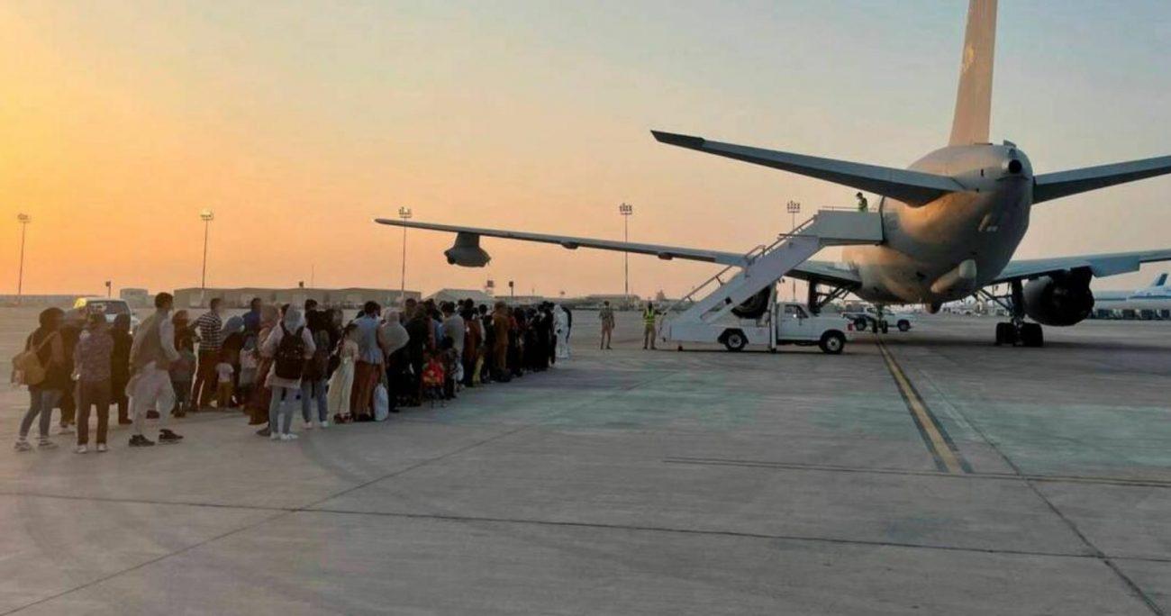 Cerca de 90.000 afganos y extranjeros han sido evacuados.