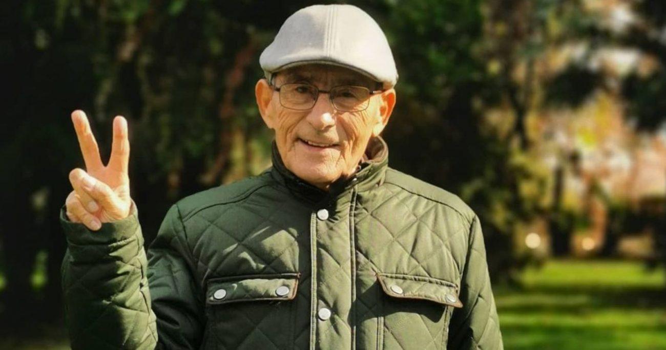 Sergio Chamy se hizo conocido gracias al documental El Agente Topo. INSTAGRAM