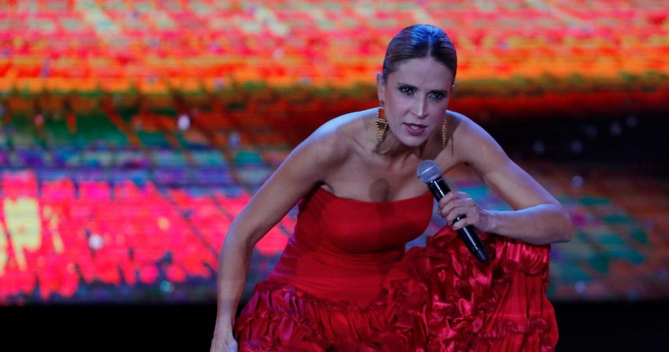 Fue en 2018 cuando la colombiana logró quedarse con todos los premios de Viña. AGENCIA UNO/ARCHIVO