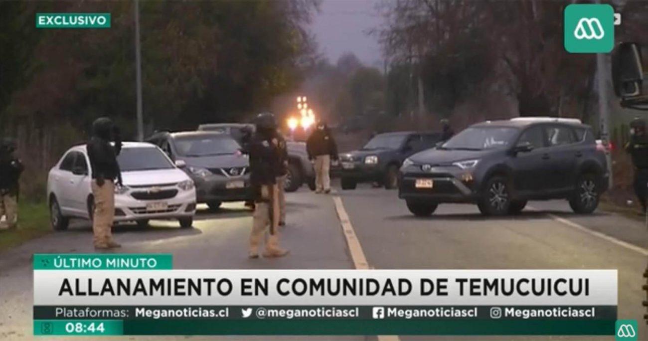 Comunidad de Temucuicui frustra a balazos allanamiento para detener a werkén Huenchullán