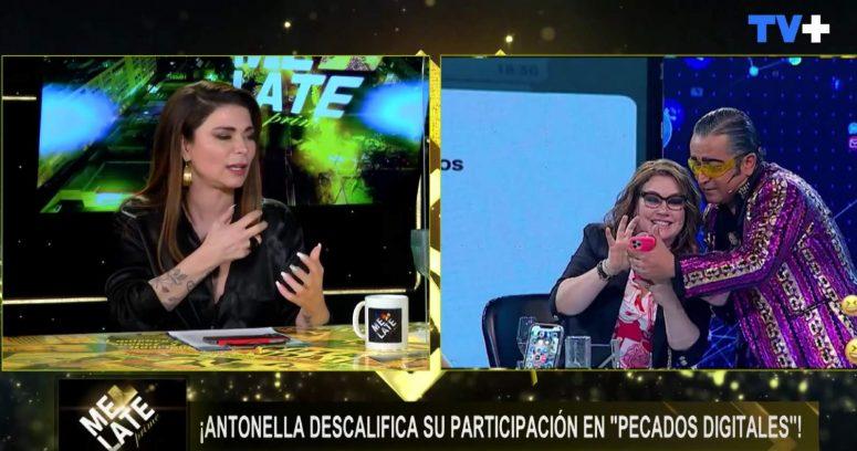 """""""Antonella Ríos relató mal rato que pasó en nuevo programa de Mega:"""