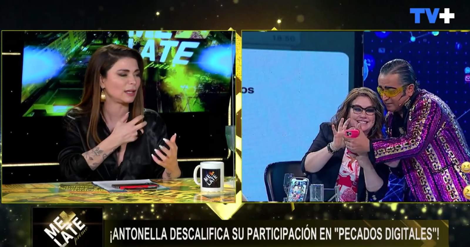 Antonella Ríos relató mal rato que pasó en nuevo programa de Mega