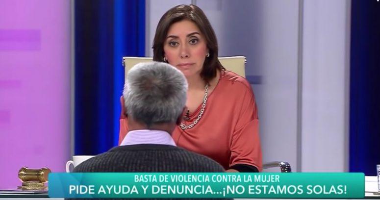 """""""Carmen Gloria Arroyo encaró a hombre por violencia intrafamiliar:"""