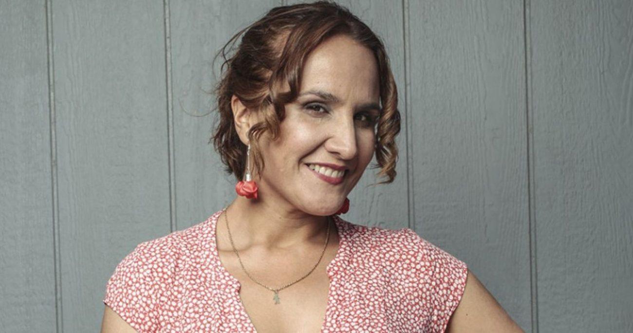 A raíz de este trabajo, Claudia Pérez recibió malos comentarios de la gente en la calle. MEGA