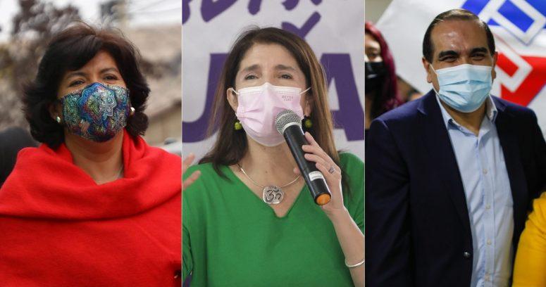 Provoste, Narváez y Maldonado se enfrentaron en el primer debate presidencial de Unidad Constituyente