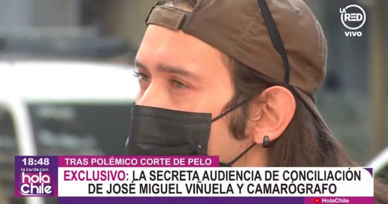 """""""José Miguel Viñuela no asistió a audiencia de conciliación con camarógrafo de Mega"""""""