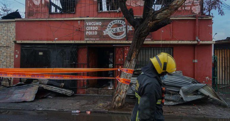 """""""Una madre y sus dos hijos fallecieron producto de un incendio en Estación Central"""""""