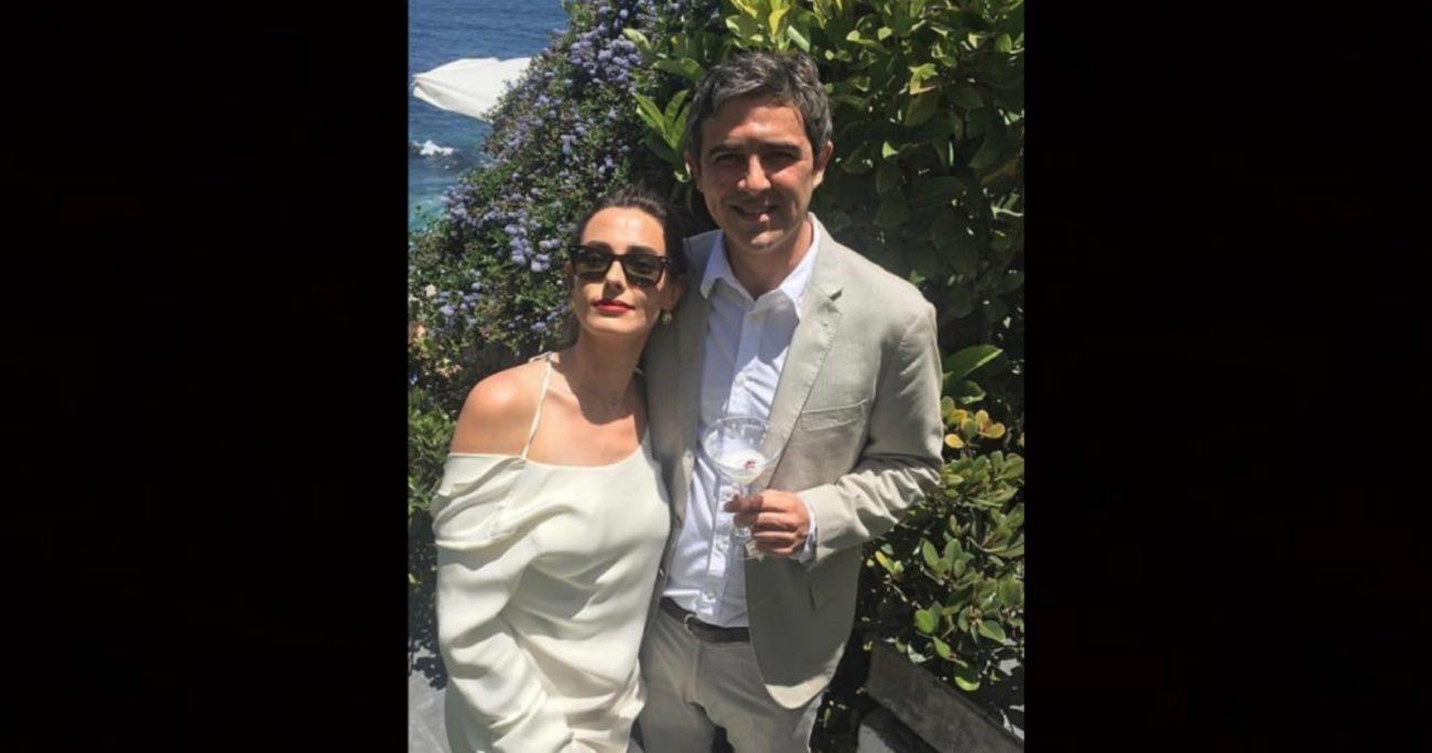 Díaz de Valdés y Juan Manuel Vial se casaron en noviembre de 2017. INSTAGRAM