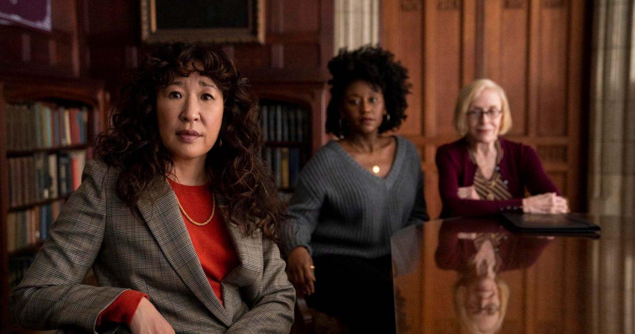 Sandra Oh es reconocida por haber interpretado por diez años a Cristina Yang en Grey's Anatomy. NETFLIX