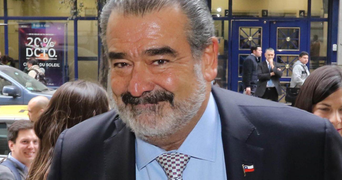 El empresario defendió su intención de ayudar a Orellana. AGENCIA UNO/ARCHIVO