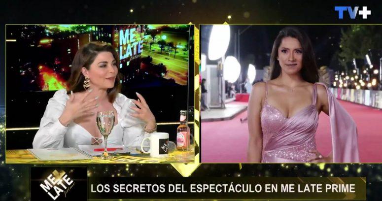 """""""Antonella Ríos recibió"""