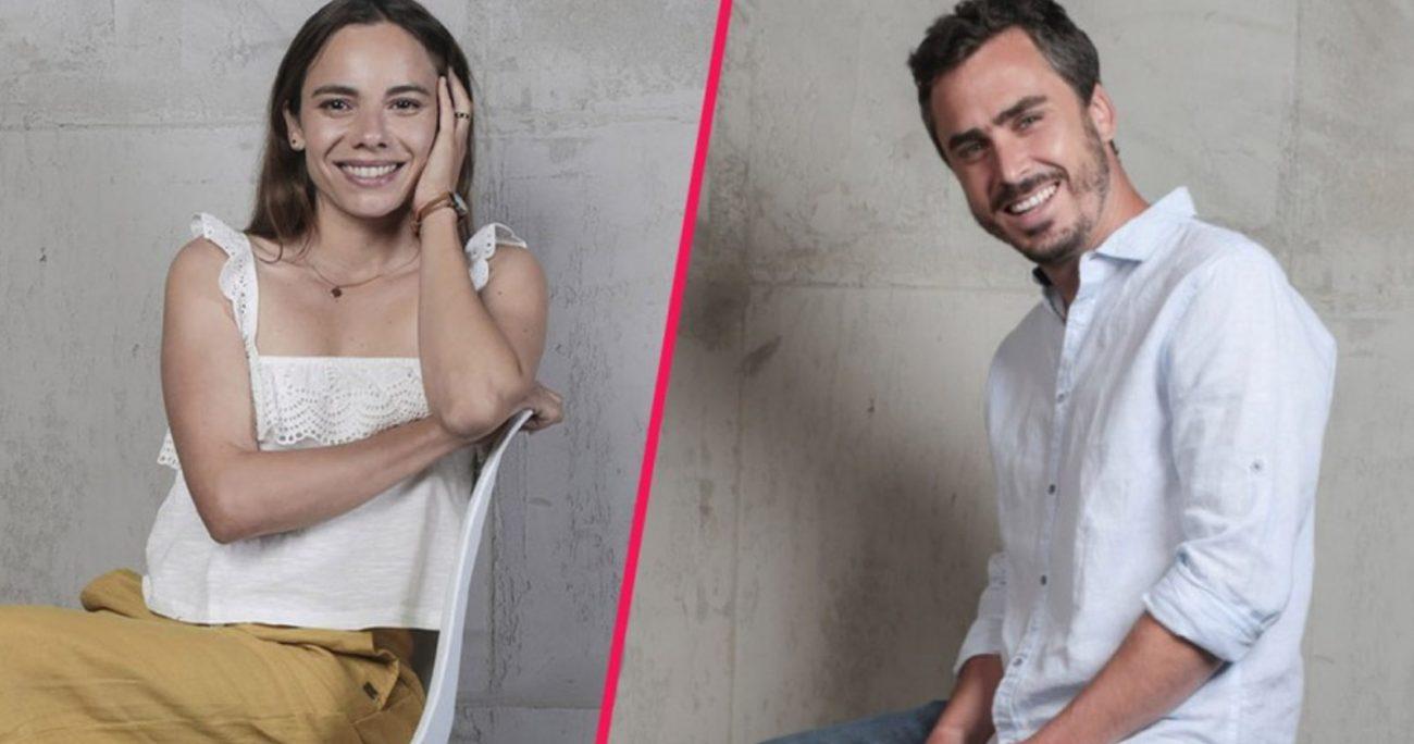 Nicolás Oyarzún y María Gracia Omegna volverán a interpretar a la pareja protagónica. MEGA