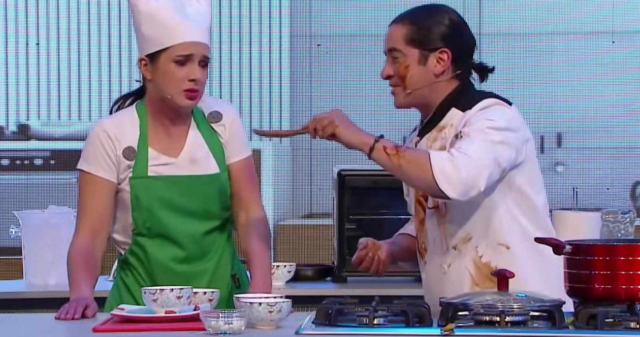 """Fernando Godoy protagonizó el segmento """"Cocinando con Odio""""."""