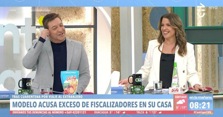 """""""El chiste que lanzó Monserrat Álvarez por caso de Daniella Chávez y la Seremi de Salud"""""""