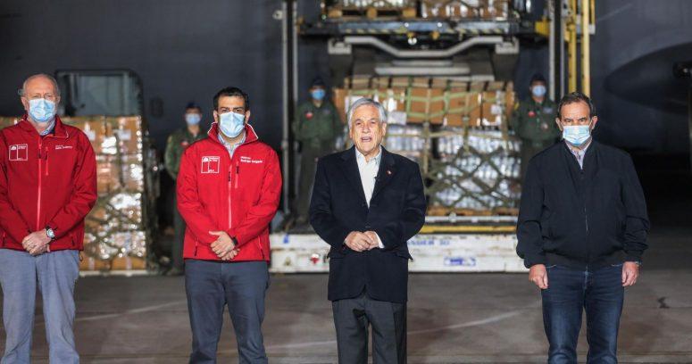 """""""Chile concretó envío de ayuda humanitaria a Haití:"""
