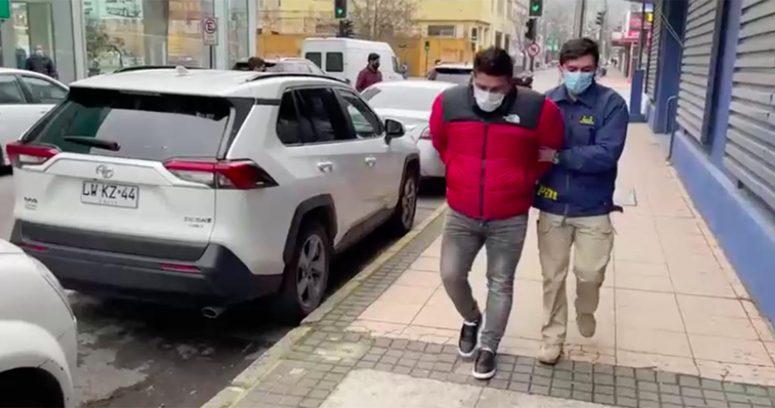 """""""Por receptación: detienen en Concepción a testigo clave en muerte de Cangri"""""""