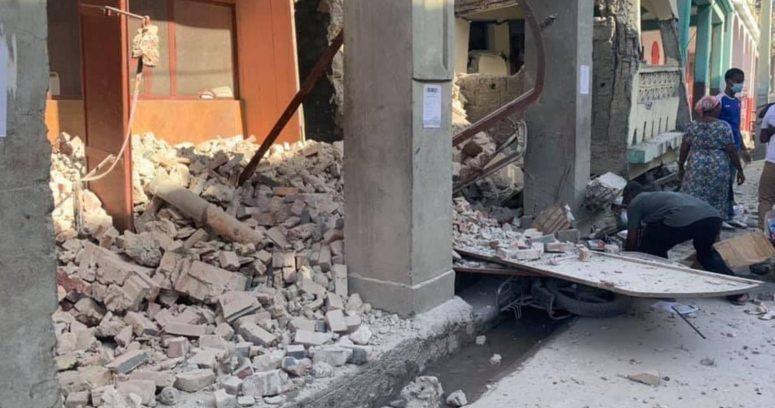 """""""Confirman al menos 29 muertos por terremoto en Haití"""""""
